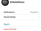 تطبيق تليجرام لطرد داعش