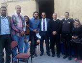 حسن الرداد أثناء زيارته لشارع المعز