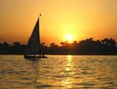 مركب شراع فى النيل