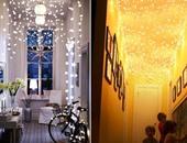 أضواء الكريسماس فى ديكور المنزل