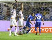 كارلوس إدواردو لحظة تسجيله الهدف