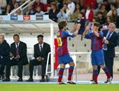 ميسى يشارك للمرة الأولى مع برشلونة