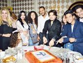 هدى تحتفل بعيد ميلاد ابنتها وتوقيع عقدها مع هاني محروس