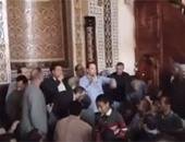 لقاء جماهيرى لمرشحين بدائرة طنطا داخل مسجد