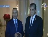 وزير البيئة خلال  حواره مع الإعلامى أحمد موسى
