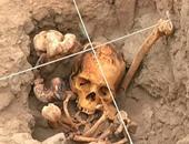 القبر الأثرى المكتشف فى بيرو