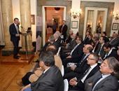 دانتى كامبيونى الرئيس التنفيذى والعضو المنتدب لبنك الإسكندرية خلال المؤتمر