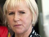 مارجوت فالستروم وزيرة الخارجية السويدية