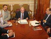 المستشار الدكتور حسن بسيونى رئيس لجنة التشريعات الاقتصادية