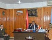 وكيل وزارة التعليم بكفر الشيخ ورئيس مدينة مطوبس