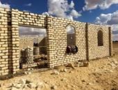 شباب tomorrow يساهمون فى بناء أول مسجد بالمنطقة