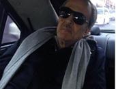 سعود الفيصل فى سيارته