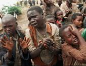 أطفال أفارقة يعانون المجاعة - أرشيفية