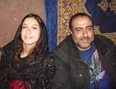 ياسمين مع المخرج سامح عبد العزيز