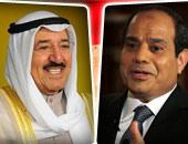 الرئيس السيسى وأمير الكويت الشيخ جابر الصباح