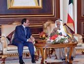 السيسى وأمير الكويت