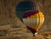 رحلات البالون بالاقصر - صورة ارشيفية