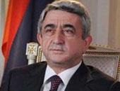 أرمين سركيسيان الرئيس الأرمينى