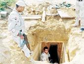 جانب من ملاحقة الإرهابيين فى سيناء