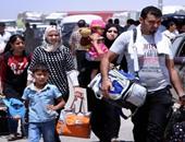 نازحين سوريين - صورة أرشيفية
