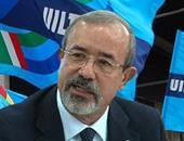 كارميلو بارباجاللو رئيس الاتحاد الإيطالى للعمل (ويل)