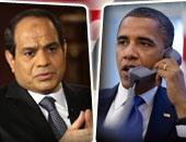 الرئيس الأمريكى باراك أوباما والرئيس السيسى