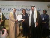 ميرفت تلاوى خلال مشاركتها فى مؤتمر الهيئة الخيرية الإسلامية