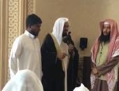 شانتج أثناء إعلانه الدخول فى الإسلام