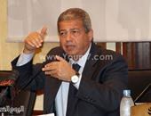 المهندس خالد عبد العزيز وزير الشباب المصرى