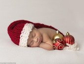 ألبوم صور للرضع بأزياء بابا نويل