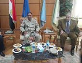 اللواء أركان حرب ناصر العاصى قائد الجيش الثانى الميدانى