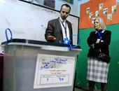 بعثة جامعة الدول العربية تتفقد لجان الانتخابات