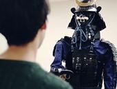روبوت جديد فى شكل مقاتل ساموراى