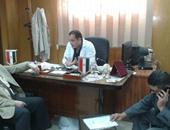 الدكتور هشام عبد الحفيظ مدير عام فرع التأمين الصحى بالشرقية