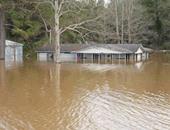 فيضانات فى أمريكا ـ صورة أرشيفية