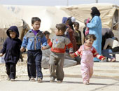 أطفال سوريين فى مخيم الزعترى - أرشيفية