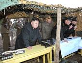 الزعيم الكورى الشمالى كيم جونج اون