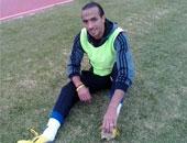 محمد طلعت مهاجم الأهلى السابق