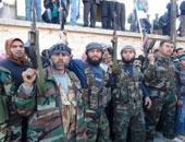 عناصر من الجيش السورى الحر