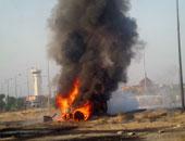 انفجار شاحنة