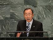 الامين العام للامم المتحدة بان كى مون