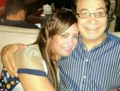 الراحل سعيد طرابيك وزوجته سارة طارق