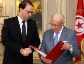 يوسف الشاهد والرئيس التونسى