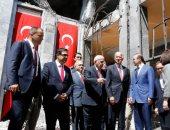 نائب الرئيس الأمريكى يزور مبنى البرلمان التركى