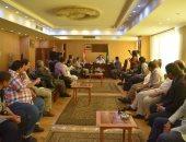 محافظ الفيوم يستقبل وفداً من الاتحاد الدولى للصحافة العربية