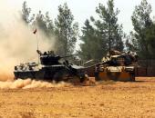 آليات عسكرية تابعة للجيش التركى