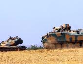 دبابات تركية تنتقل للحدود