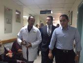 حملة مفاجئة على مركز علاج فيرس c بمستشفى دار الشفاء