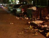 انتشار القمامة فى شوارع الزيتون