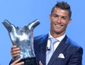 رونالدو بعد فوزه بجائزة أفضل لاعب بأوروبا